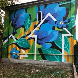 La street art di Taglieri a Milano