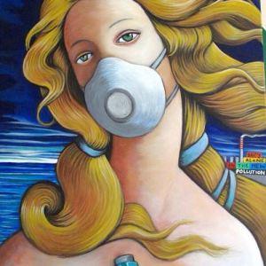 La street art di Taglieri su tela