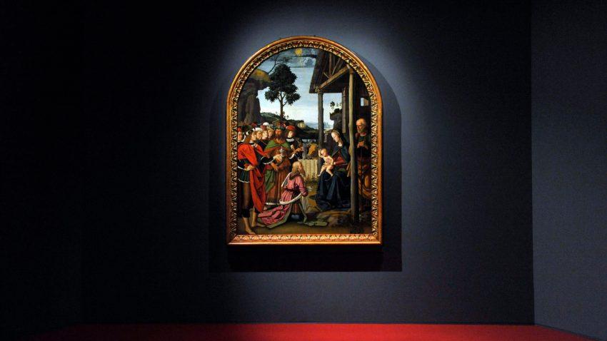 Perugino, Adorazione dei Magi