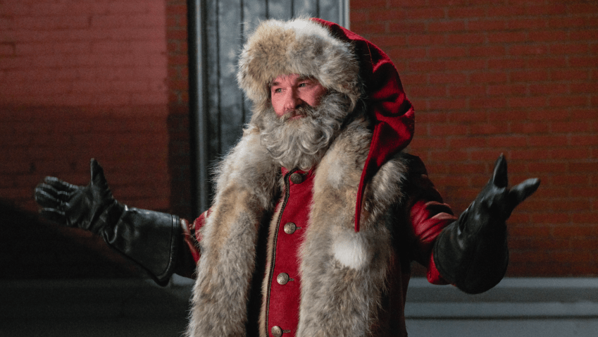 kurt russell Qualcuno salvi il Natale