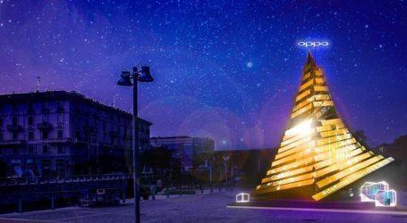 Oppo Xmas Tree: l'albero di Natale in Darsena è smart