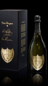 DOM PERIGNON - VINTAGE 2008 BOUTEILLE + COFFRET GAUCHE FOND NOIR