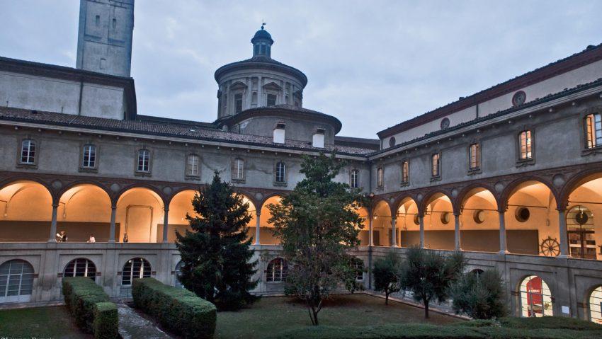 Museo Nazionale della Scienza e della Tecnologia, il Chiostro. ph Lorenza Daverio