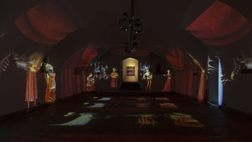 Leonardo e Warhol, Cripta di San Sepolcro, @Scalco