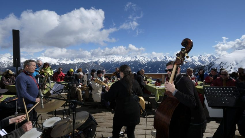 Concerto in quota del Dolomiti Ski Jazz