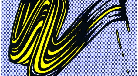 Roy Lichtenstein, Brushstroke,1965