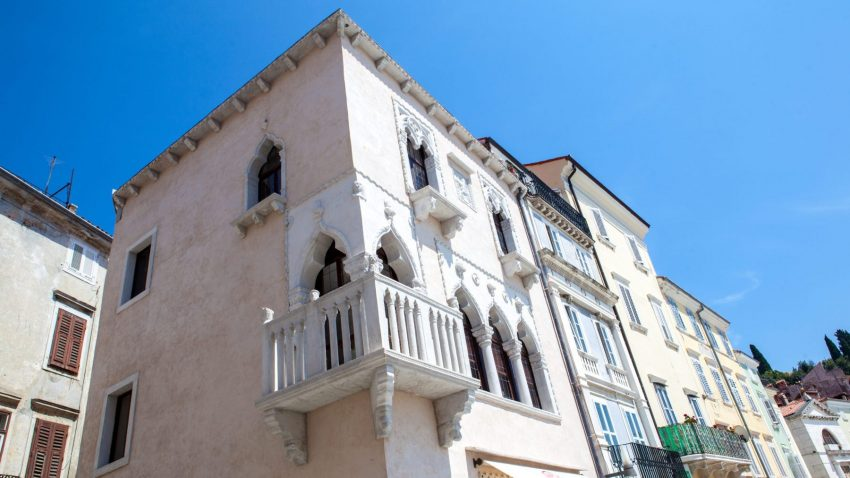 La casa veneziana in Piazza Tartini