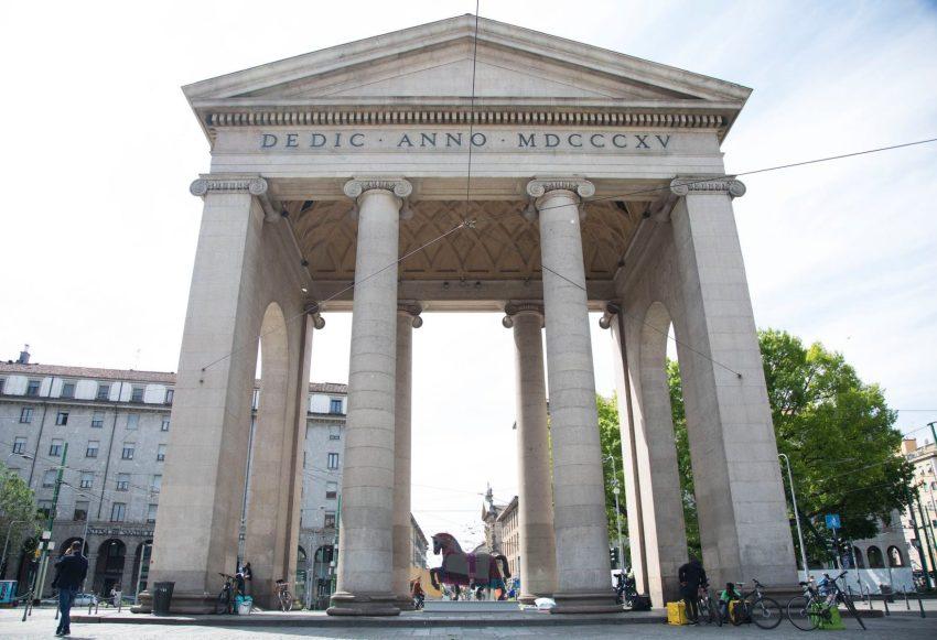 Leonardo Horse Project, il destriero in piazza XXIV Maggio