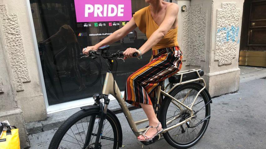 Milano Pride con la e-bike