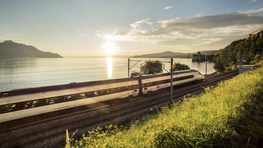 Treni per la Svizzera - Lavaux-Linie