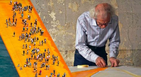 Christo presenta il suo documentario all'Anteo