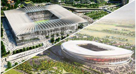 Ecco i due concept design per il nuovo stadio di Milano
