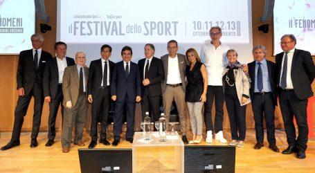 Presentato a Milano il Festival dello Sport 2019