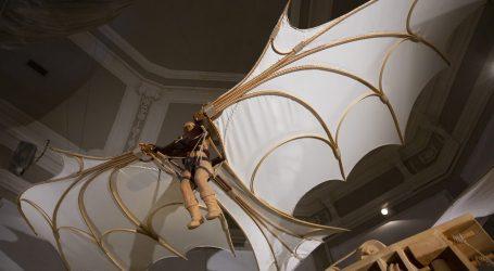 Macchina Volante CA176 di Leonardo, al museo Leonardo3