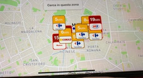 Filaindiana, sito e app che indica i minuti di attesa in ogni supermercato