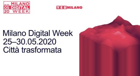 Milano Digital Week 2020 Full Digital Edition