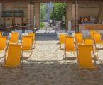 Mare culturale urbano prepara l'estate in città e si trasforma in spiaggia