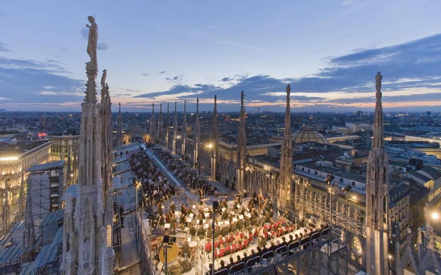 Rassegna cinematografica Terrazze del Duomo  Milano Life