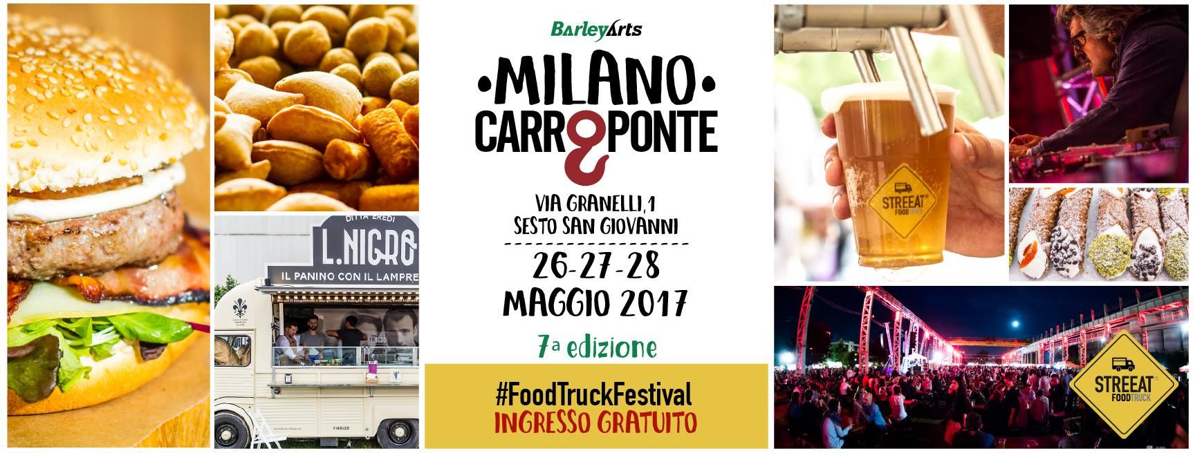 Street Food al Carroponte  Milano Life