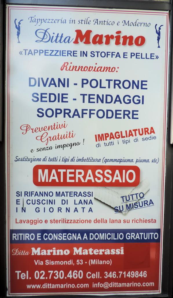 MATERASSI MARINO Letti Milano  MilanoMiacom