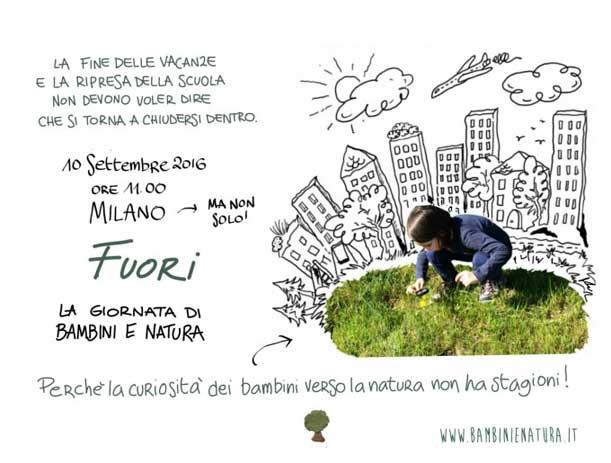 FUORI La giornata di Bambini e Natura a Milano  il 10