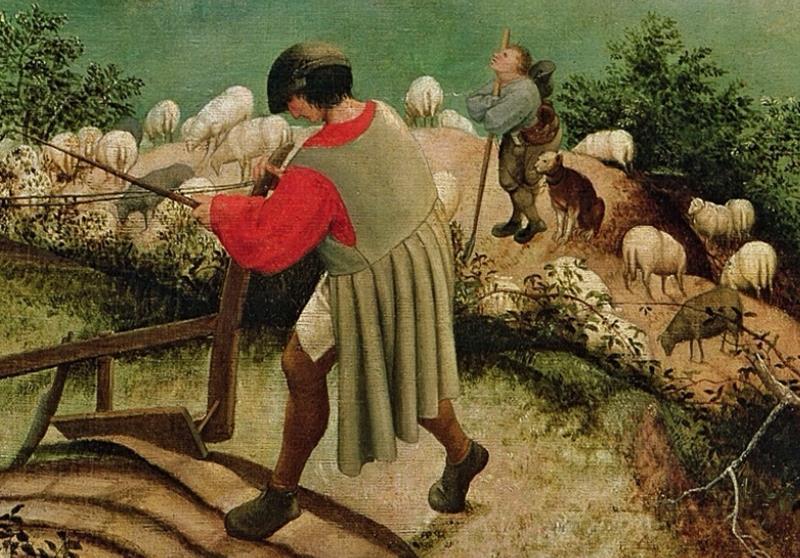 La caduta di Icaro di Pieter Bruegel il Vecchio