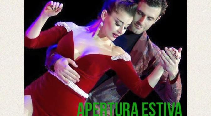 FERNANDO GRACIA Y SOL CERQUIDES – STAGE E SHOW – PALATANGO SEGRATE, APERTURA ESTIVA
