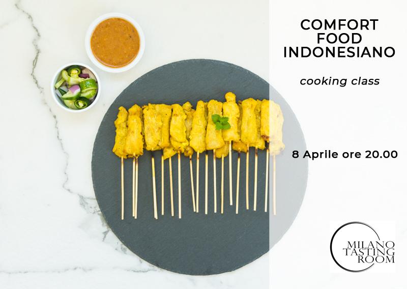 Corso di cucina indonesiana: comfort food indonesiano