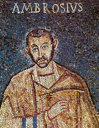 святой Амвросий Медиоланский