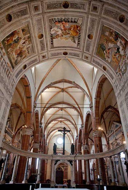 По историческим церквям Вероны - Кафедральный собор 2
