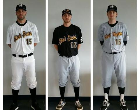 e32c4f1c9c1 After a long wait, the Black Bears finally unveil their uniform. The West  Virginia ...