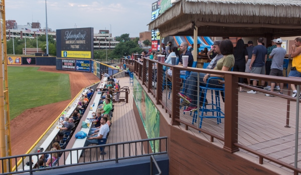 Image result for canal park akron duck row