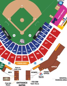 Seating chart and box office info also colorado springs sky sox rh milb
