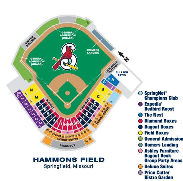 St Louis Cardinals Seating Chart Suites Brokeasshome Com