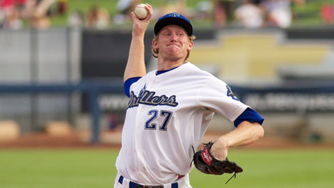 Eddie Butler struck out 25 batters in 27 2/3 Double-A innings.