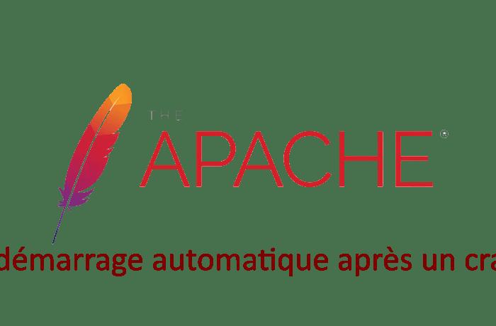 Bash : script de redémarrage automatique après un crash apache.