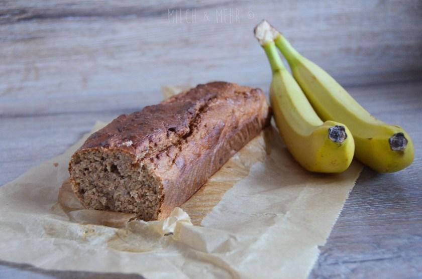 Bananenbrot kleinkindtauglich ohne raffinierten Zucker