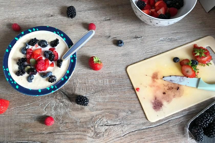 Zu viel Obst für Babys? Geht das?
