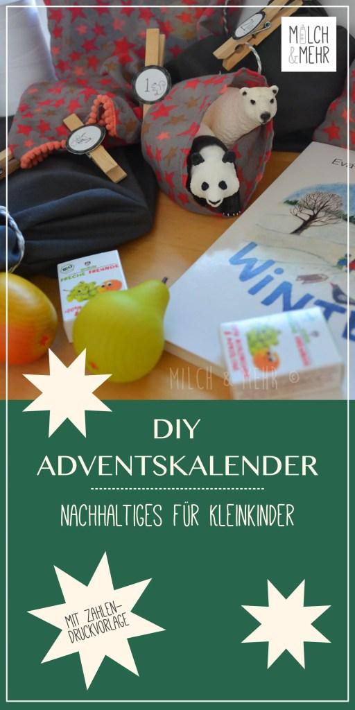 DIY Adventskalender fuer Kleinkinder
