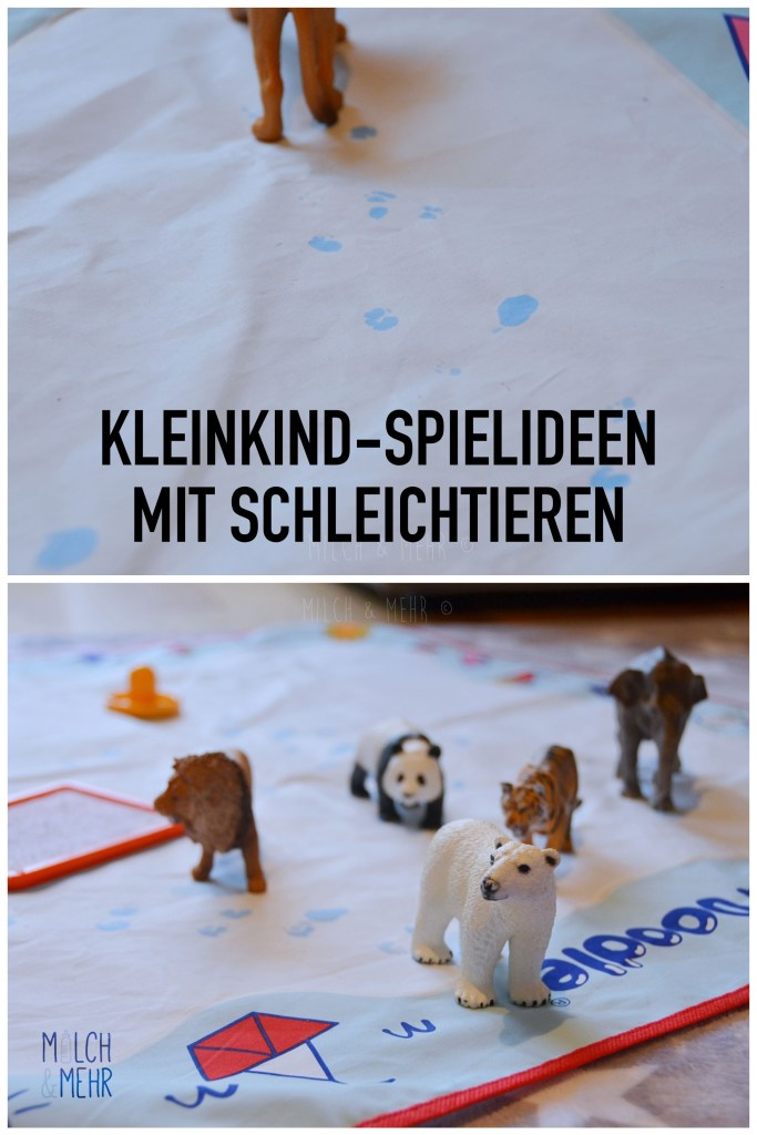 Spielideen Schleichtiere Kleinkinder