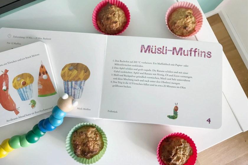 Die kleine Raupe Nimmersatt Unser Kochbuch Buchempfehlung