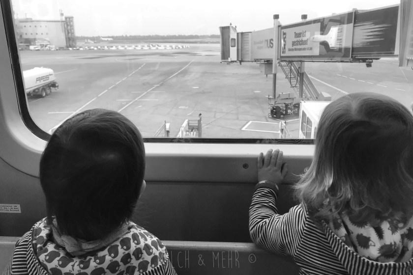 Fliegen mit Zwillingen Tipps und Tricks