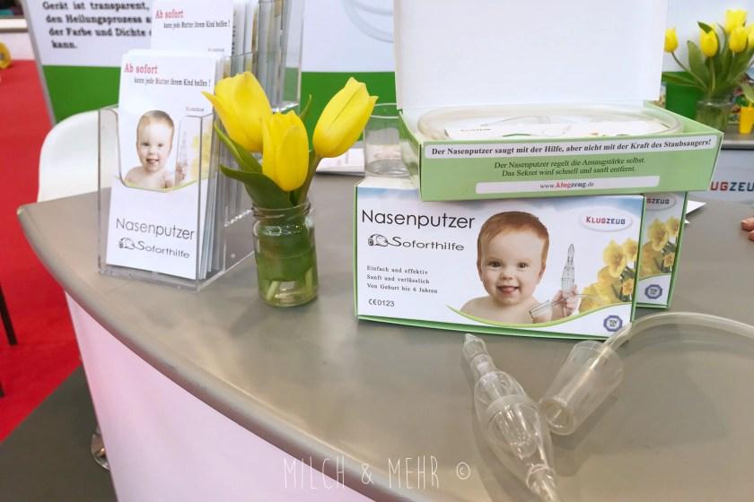 Klugzeug Nasensauger Babywelt Messe