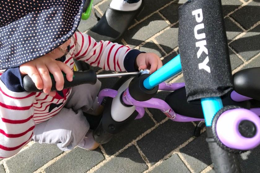 Puky Laufrad online kaufen und zusammenbauen