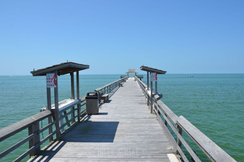 Florida mit Kindern Naples Pier