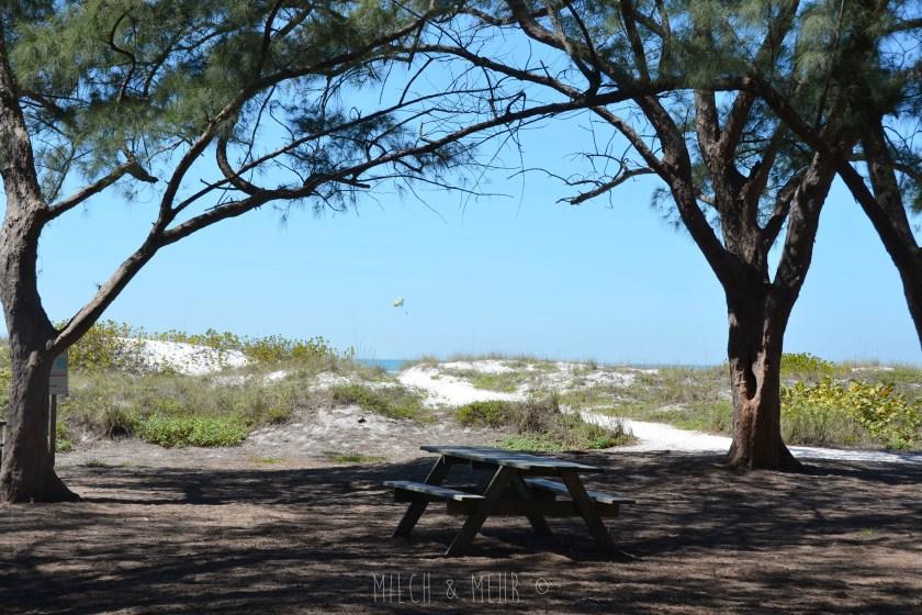 Florida mit Kleinkind Ana Maria Island