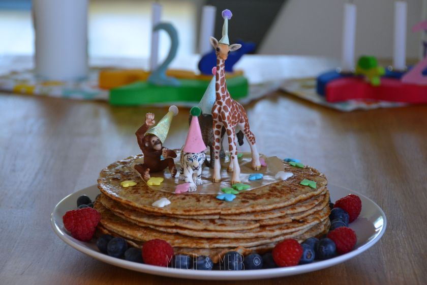 Zuckerfreier Geburtstagskuchen fuer Kleinkinder