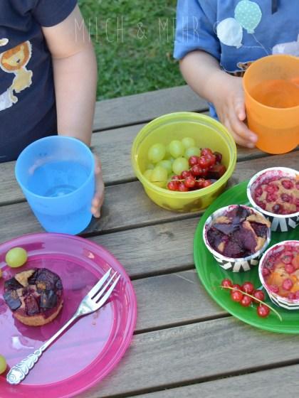 nip Kindergeschirr Picknick im Garten