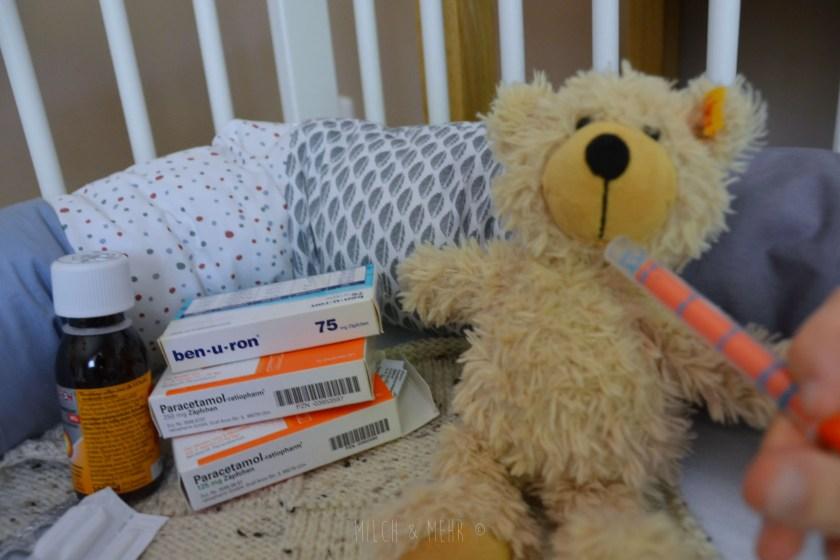 Fieber richtig senken bei Kindern