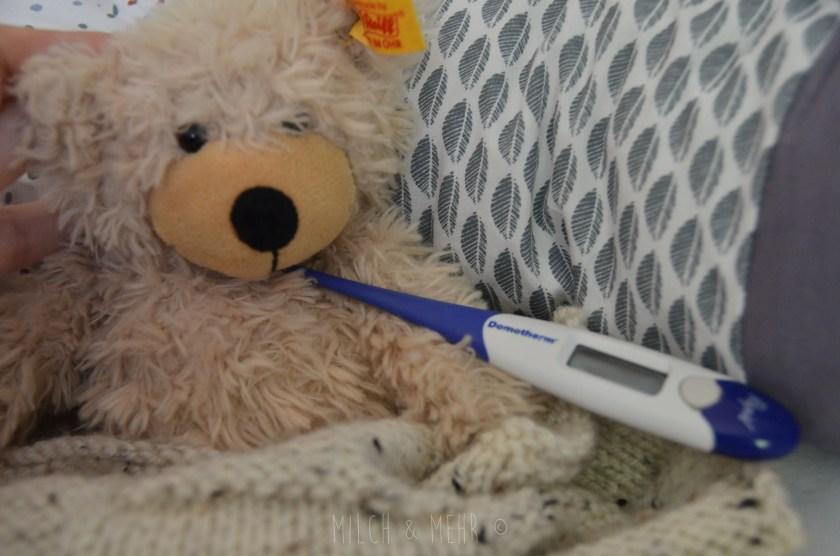 richtige Dosierung um Fieber bei Kindern zu senken